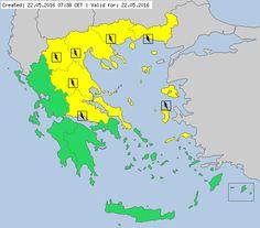 Meteoalarm - severe weather warnings for Europe - Mainpage - Greece