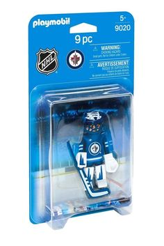 PLAYMOBIL NHL Winnipeg Jets Goalie Playset Hockey Boys Kids Game Play Toy New #PLAYMOBIL #WinnipegJets