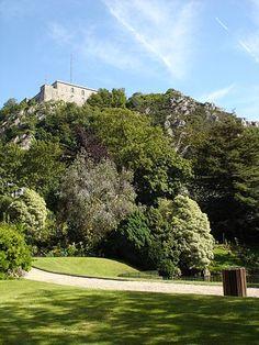 Le jardin public et le fort du Roule - Cherbourg #tourisme #campingcar