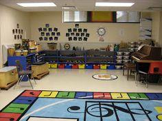PLN Project: Elementary Music Classroom Setup – Music Ed Portfolio: Adam Peterson Classroom Images, Classroom Decor Themes, Classroom Setting, Classroom Setup, Classroom Design, Classroom Furniture, Preschool Music, Music Activities, Teaching Music