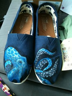 handpainted Toms for Torrey's 18th BDay