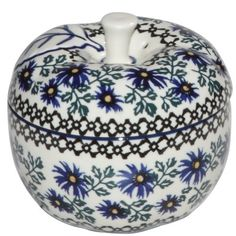 New Polish Pottery LARGE APPLE BAKER Boleslawiec CA Pattern 976 Euro Stoneware - http://cookware.everythingreviews.net/9255/new-polish-pottery-large-apple-baker-boleslawiec-ca-pattern-976-euro-stoneware.html