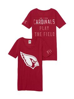 Arizona Cardinals Bling Tee PINK