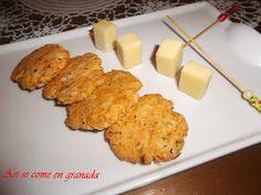 Así se come en Granada.: Galletas de tomates secos y albahaca