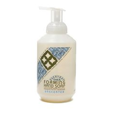 Fair Trade Shea Butter Foaming Hand Soap Unscented www.theteelieblog.com With unrefined Certified Fair Trade shea butter and virgin coconut oil, this rich, instant foaming hand soap gently and thoroughly cleanses your hands, leaving them clean and moisturized. Handmade with neem leaf extract to support healthy skin and shea leaf extract for antioxidant protection. #thrivemarket