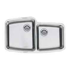 Blanco Performa 20-In X 33.12-In Stainless Steel Single-Basin-Basin Stainless Steel Undermount (Customizable)-Hole Resid