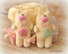 Cats free crochet tutorial