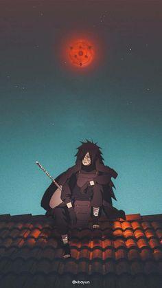 Madara Uchiha Wallpapers, Best Naruto Wallpapers, Cool Anime Wallpapers, Cute Anime Wallpaper, Animes Wallpapers, Naruto Uzumaki Shippuden, Madara Susanoo, Naruto Uzumaki Art, Otaku Anime