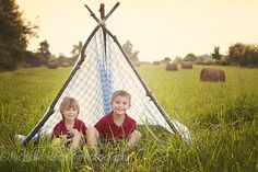 I love these vintage tents right now could be fun to have the boys reading books or making a campfire or playing cowboys and indians