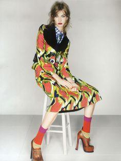 """""""Dandy Haze"""" : Karlie Kloss : UK Vogue September 2012 : Nick Knight"""