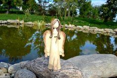 Anděl anděl Pottery Angels, Park, Outdoor Decor, Parks