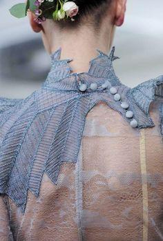 Julien Fournié Haute Couture Spring 2014 | details  #mizustyle