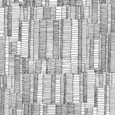 Robert Kaufman Fabrics: AFR-15026-2 BLACK by Carolyn Friedlander from Doe