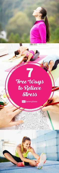 Don't let stress get you down. Click through to see 7 FREE ways to relieve stress....