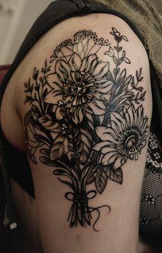#flowers #tattoo #ink
