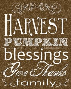 Blooming Homestead: A great blog for PRINTABLES.   2011 Thanksgiving ......http://www.bloominghomestead.com/search/label/printables