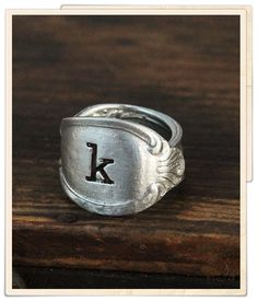 classic oval spoon ring