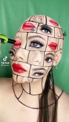 Crazy Makeup, Cute Makeup, Makeup Art, Makeup Tips, Makeup Looks, Makeup Stuff, Pretty Makeup, Makeup Inspo, Makeup Inspiration