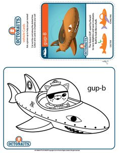 octonauts gup x coloring pages - photo#12