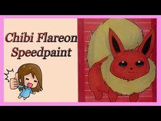 Angela's Art - YouTube  Chibi flareon ACEO card