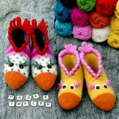 Påsketøfler Baby Shoes, Slippers, Kids, Crafts, Patterns, Threading, Young Children, Block Prints, Boys