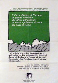 Con il Parco ʹPiazza del Soleʹ e per il Parco Didattico di Nazzano  Progetto grafico di Daniele Turchi.