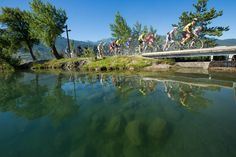 ET4_BB5R7855_©Jean-Luc Armand Moutain Bike, Alps, River, Outdoor, Outdoors, Outdoor Games, The Great Outdoors, Rivers