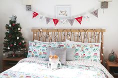 15 Awesome Christmas Kids Room Design And Decoration Ideas Zoella Christmas, Cozy Christmas, Simple Christmas, Christmas 2019, Christmas Ideas, Minimalist Christmas, Elegant Christmas, Christmas Bedding, Christmas Interiors