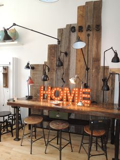 Style labo Lampe Gras, Decoration, Furniture Decor, Home Accessories, Display, Montreal, Wall, Lamps, Window