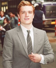 Josh Hutcherson arriving at The Late Show with David Letterman