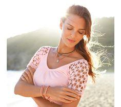 Tee-shirt col V - Blancheporte Raglan, Tee Shirts, Tees, Short, Crop Tops, Women, Products, Fashion, Woman Clothing
