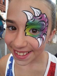 1000+ ideas about Dinosaur Face Painting on Pinterest | Face ...