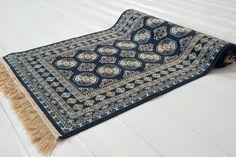 Bokhara Silk blå 67x105