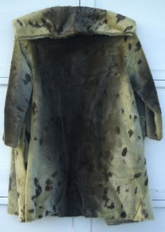 Vintage Seal Skin Fur Coat  To Be Used For Pelt and/or by Dantage, $50.00
