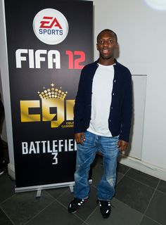 Shaun Wright-Phillips was among those in attendance at Celebrity Gaming Club's FIFA 12 Launch Party. Shaun Wright Phillips, Launch Party, Attendance, Fifa, Gaming, Product Launch, Celebrity, Sports, Jackets