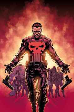 The Punisher vs. Thunderbolts Part One Marvel Now! Punisher Marvel, Marvel Dc Comics, Ms Marvel, Marvel Comic Books, Comic Book Characters, Marvel Characters, Marvel Heroes, Comic Character, Marvel Names