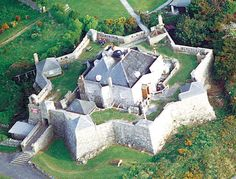 Star Castle – Isle of Scilly – UK. Built as a fortress in 1593 by Robert Adams, Surveyor of the Royal Works and Francis Godolphin, Captain of the Scilly Isles during the 'Spanish invasion scare' Now a hotel