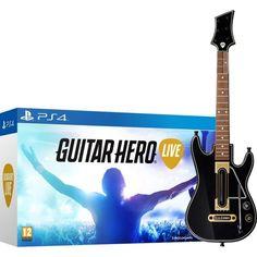 Ahora puedes conseguir el videojuego Guitar Hero LIVE con accesorio de guitarra eléctrica para PS4, PS3, XBOX ONE, XBOX 360 y WiiU por solo 29,95. Oferta hasta agotar existencias.