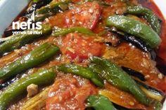 Tavuklu Patlıcan Kebabı Tarifi