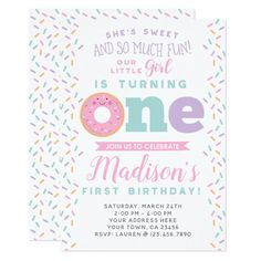 Donut Thank you Card Donut Birthday Girl Doughnut Pink Donut Party Editable Thank You Card Birthday Template Instant Download Templett 0050
