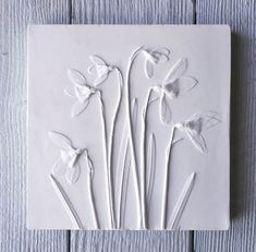 Fiona Gray Designs work for sale - Fiona Gray Designs Plaster Crafts, Plaster Art, Paris Crafts, Plaster Of Paris, Paperclay, Botanical Prints, Cement, Concrete, Gifts For Her