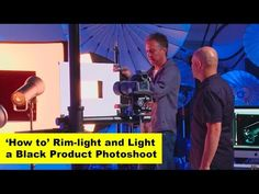ISO 1200 Magazine | Photography Video blog for photographers: Master Class with Urs Recher & Karl Taylor: 'How To' Rim-light and light a black product shot