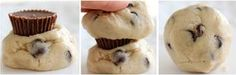 Reese's peanut butter surprise cookies