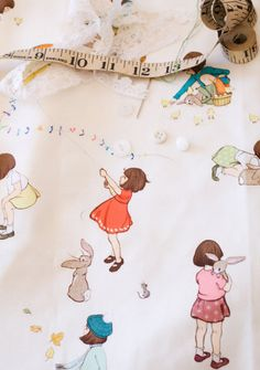 Belle & Boo Fabric #sewing #crafts #cute #girls #pattern