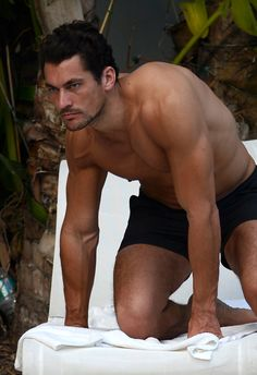 David Gandy....I have not clue where he came from but he makes me drool.