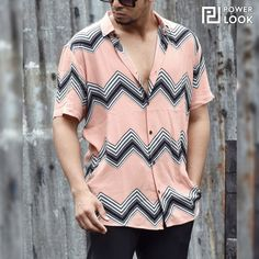 Giving the streets a new smooth with this Zig Zag Lines printed shirt ⚡️ ⚡️Shop the Shirt (SKU: 02-518120) ⚡️⠀⠀⠀⠀⠀⠀ ⠀⠀⠀⠀⠀⠀ 💲Discounted Price: ₹8̶9̶9̶ ₹599💲 #Powerlook #Shirt #PowerlookShirt #StreetFashion #StreetWear #MensFashion #OOTD #HipHopFashion #OuterWear #Shirts #ShirtStyle #ShirtsForMen #StreetFashionStyle #StreetFashions #StreetFashionMen #StreetWearBeast #StreetWearDaily #MensFashionPost #MensFashionWear #MensShirts Half Sleeve Shirts, Half Sleeves, Mens Fashion Wear, Hip Hop Fashion, Shirt Shop, Printed Shirts, Shirt Style, Street Wear, Street Style