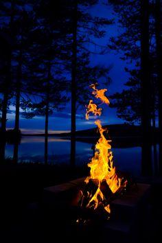 ponderation:  Fire in the Night by Jon Grönholm