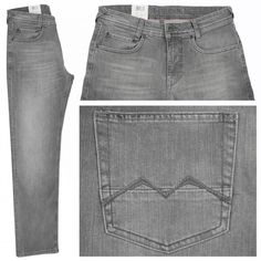 MAC Arne Jeans grey used