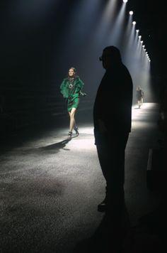 Alber Elbaz On His Anniversary Collection for Lanvin: 'I Still Don't Like It' . such a humble and talented designer. 10 Anniversary, Yohji Yamamoto, Creative Director, Lanvin, Fascinator, Concert, World, Fashion Designers, Backstage