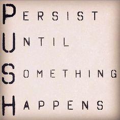 P.U.S.H it... P.U.S.H. it real good!  Happy Monday & have a great week! ☀ #goals #staythecourse #mysmondaymantra #mys #myyogascene